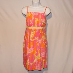 Lilly Pulitzer Giraffe Dress 2